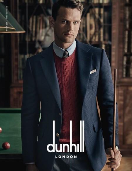Dunhill redefine al gentleman inglés en su colección de otoño