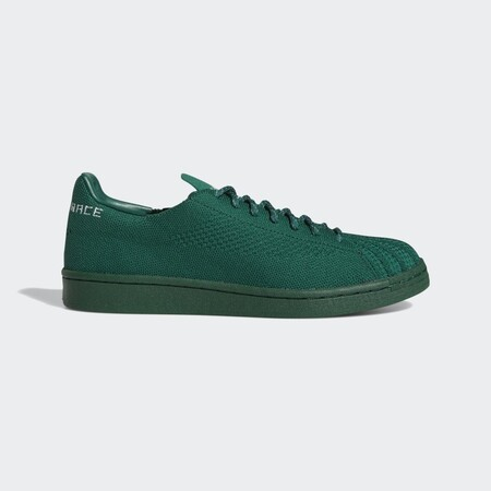 Zapatilla Superstar Pharrell Williams Primeknit Verde S42928 01 Standard