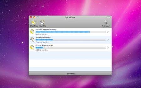 """Data Glue, una buena versión de """"hacha"""" para Mac OS X"""