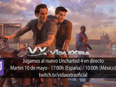 Jugamos en directo a Uncharted 4 a partir de las 17:00h (finalizado)