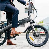 La nueva bicicleta eléctrica 'made in Spain' de Littium es plegable, pesa 20 kg y su batería dura 100 km, por 1.890 euros