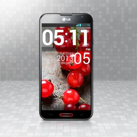 El LG Optimus G Pro también nos mirará para saber qué tiene que hacer