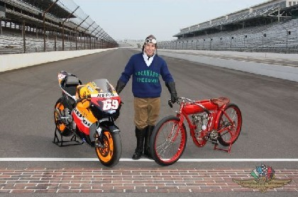 Hayden promociona el GP de Indianapolis
