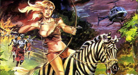 Cine en cómic: 'Sheena, reina de la selva', de John Guillermin