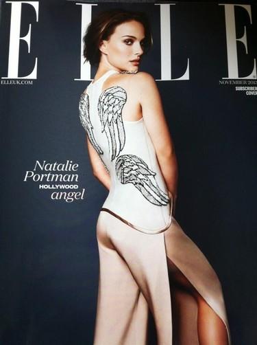 Ese ángel de portada llamado Natalie Portman