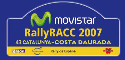Rally RACC Catalunya - Costa Daurada 2007