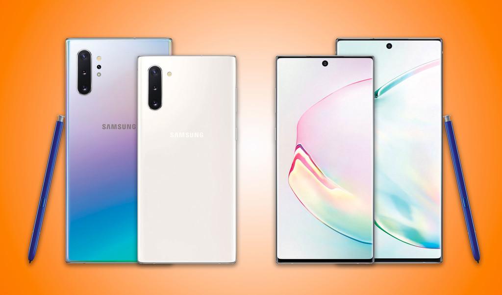 Comparativa de los Samsung Galaxy Note 10 y 10+ frente a iPhone XS Max, Pixel 3 XL, Huawei P30 Pro y más: empieza la segunda ronda de la batalla por ser el mejor móvil de 2019