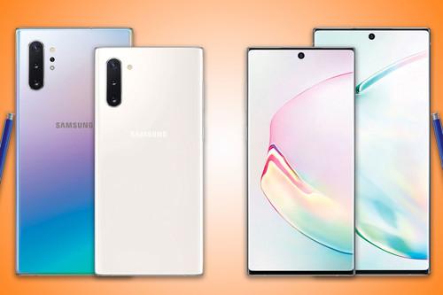 Comparativa de los Samsung Galaxy Note 10 y 10+ frente a iPhone XS Max, Huawei P30 Pro y más: empieza la segunda ronda de la batalla por ser el mejor móvil de 2019