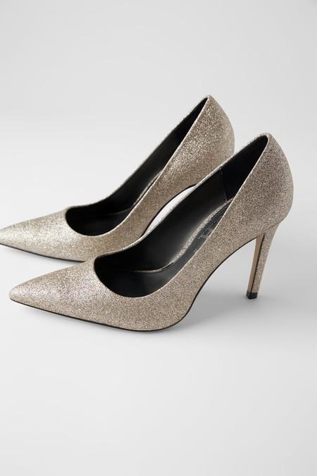 Zapatos Glitter Zara