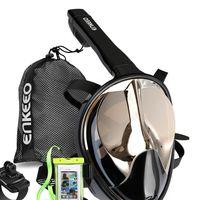 Kit máscara de Buceo, funda impermeable y pulsera compatible con Go pro rebajado en Amazon por sólo 25,49 euros