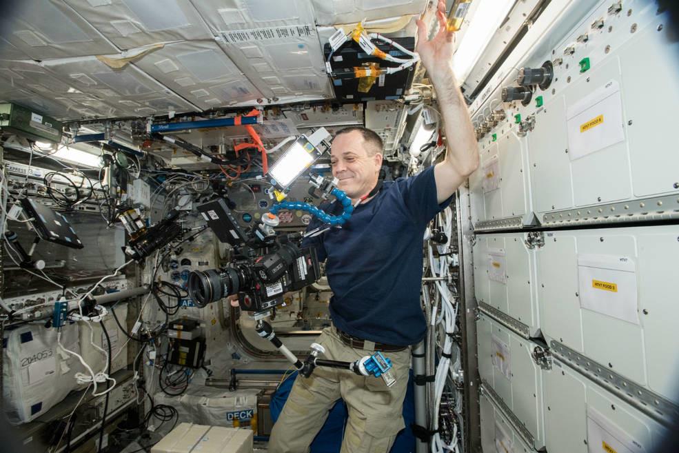 La Estación Espacial estrenó su cámara 8K y la NASA nos muestra el primer vídeo con esta resolución grabado desde el espacio