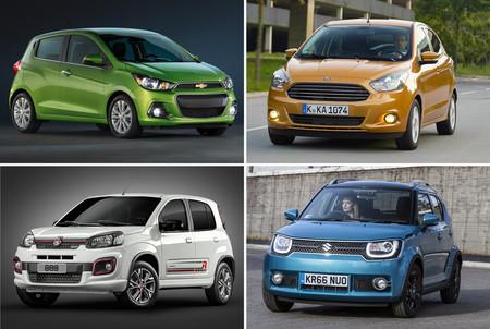 Ford Figo Vs Suzuki Ignis Vs Chevrolet Spark Vs Fiat Uno 64