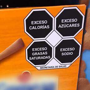 La OMS reconoce a México por su etiquetado frontal como medida para combatir la obesidad infantil
