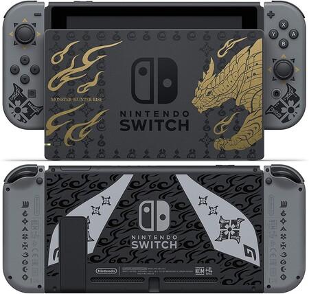 Nintendo Switch edición limitada de Monster Hunter Rise, preventa en México