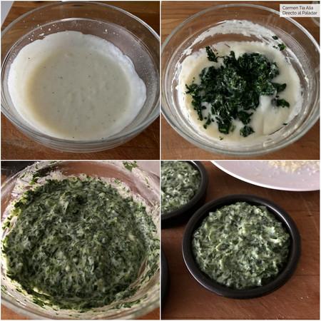Paso A Paso Crema De Espinacas En Microondas