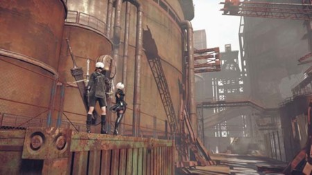 Nier de Square Enix y PlatinumGames nos sigue emocionando con cada video