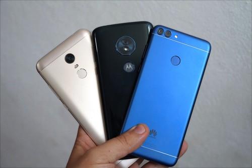 Motorola vs Huawei vs Xiaomi: la feroz competencia de los fabricantes referentes de la gama media en México