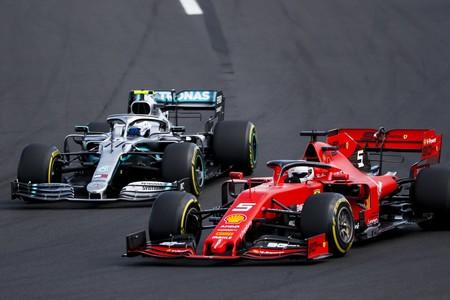 Bottas Vettel Hungria F1 2019