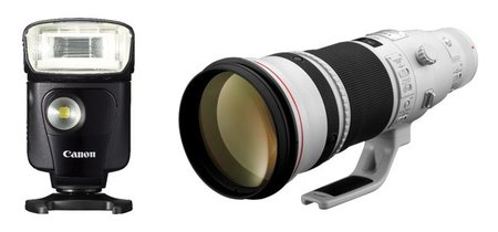 Canon presenta flashes para principiantes y objetivos para profesionales