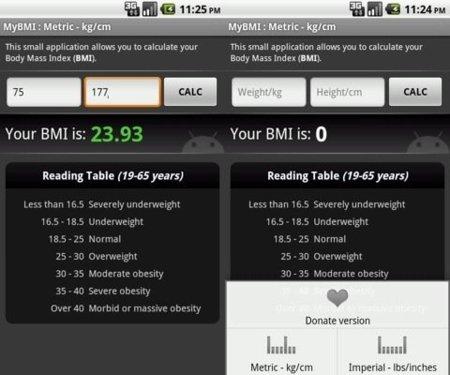 Calculadora de IMC Android