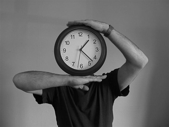 reloj cabeza