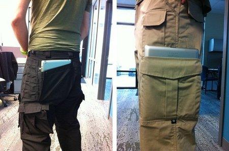Pantalones cargo para llevar el iPad 2