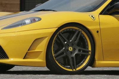 Novitec Rosso Ferrari F430 Scuderia, 717 cavallinos desbocados
