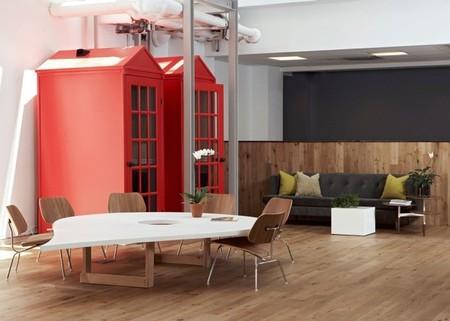 Espacios para trabajar: las oficinas de Foursquare en New York