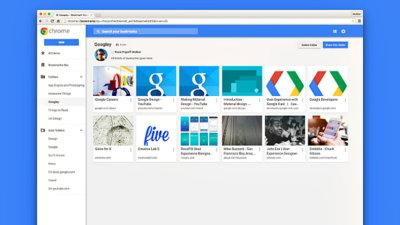 El nuevo gestor de marcadores de Chrome fracasa y Google anuncia su retirada