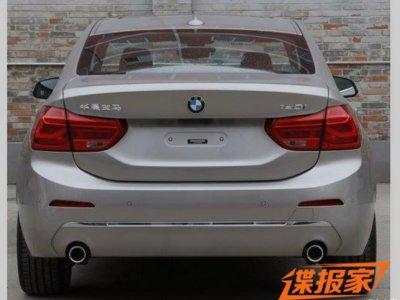 ¡Filtrado! El BMW Serie 1 Sedan desde donde no lo habías visto aún