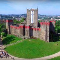 Guimarães a vista de pájaro. Vídeos inspiradores