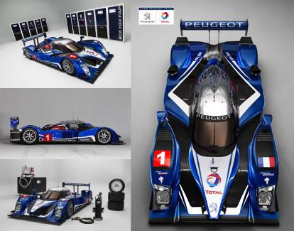 Peugeot desvela su programa deportivo para 2010