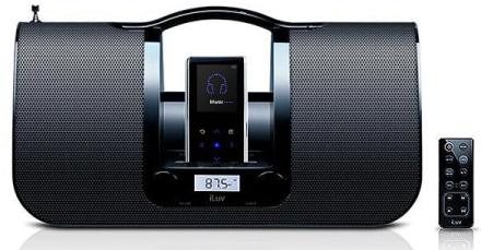 Altavoz con base para reproductores de Samsung