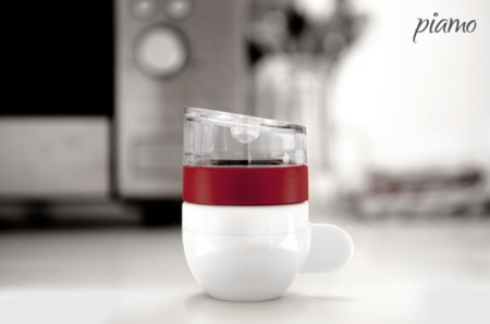 Piamo: café espresso para uno, rápido y hecho en el microondas