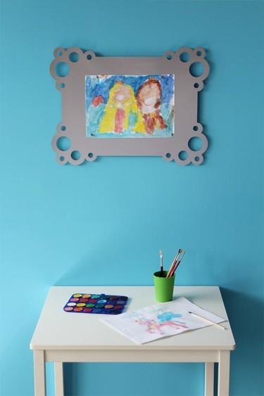 El marco perfecto para las obras de arte de los peques de la casa lo tiene Quimèric