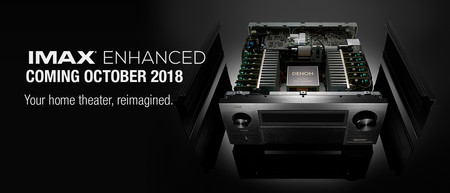 Denon y Marantz apuestan por el estándar IMAX Enhanced en su nueva actualización para receptores AV