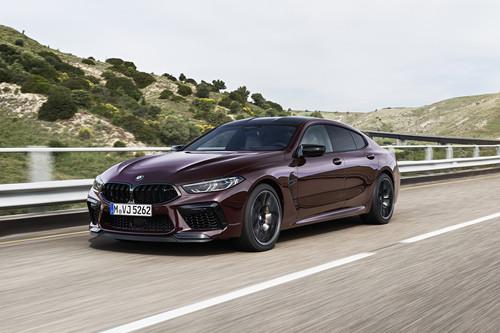 BMW M8 Gran Coupé 2020: hasta 625 CV para una nueva berlina de altos vuelos que quiere circuito