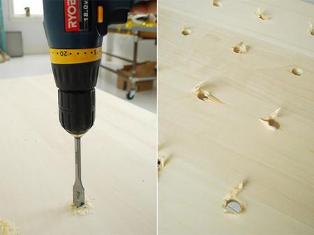 Fabricar estantería de madera variable