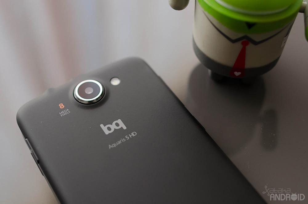 Bq Aquaris 5 HD, diseño