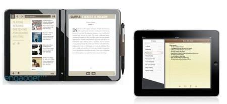 Microsoft Courier y Apple iPad: dos grandes enfrentados por nuestro sofá