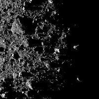 A 12 centímetros por píxel, con esa resolución puedes ver ya el polo norte del asteroide Bennu
