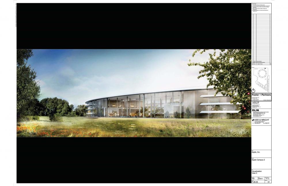 Foto de Proyecto original del nuevo campus de Apple (15/27)