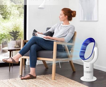 Diseño y tecnología para combatir la ola de calor con los ventiladores sin aspa mejor valorados de Amazon