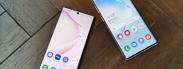 Samsung Galaxy Note 10+ y Note 10, más baratos en Tuimeilibre: 999 euros y 899 euros respectivamente