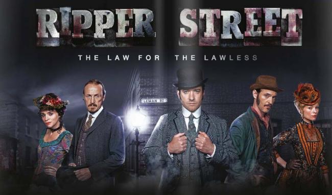 Cartel promocional de 'Ripper Street'