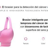 Eva, con este brasier inteligente un joven mexicano pretende detectar el cáncer de mama