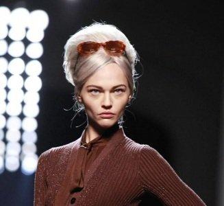 Maquillaje de pasarela: el retro-look de Jean Paul Gaultier en la Paris Fashion Week Otoño-Invierno 2011/2012