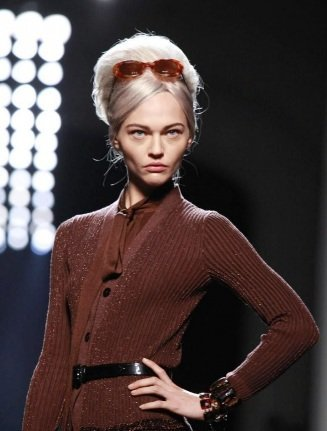 Maquillaje de pasarela: el retro-look de Jean Paul Gaultier en la Paris Fashion Week Otoño-Invierno 2011/2012