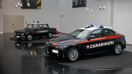 ¡È arrivata la polizia! Alfa Romeo Giulia será el encargado de la seguridad en las calles italianas