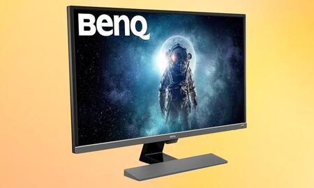 Un monitor de 32 pulgadas 4K como el BenQ EW3270U tiene un precio superrebajado en las ofertas de Navidad de Amazon. Lo tienen por 379,99 euros